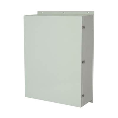 Allied Moulded AM483612L NEMA 4X Fiberglass Enclosure