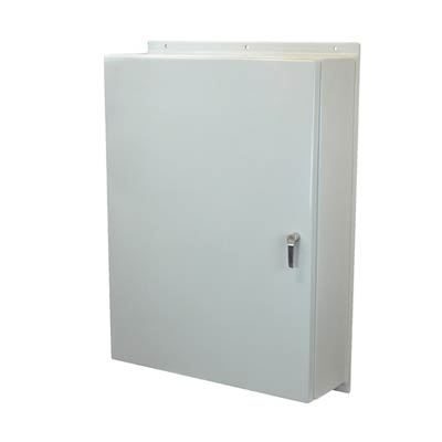 Allied Moulded AM483612L3PT NEMA 4X Fiberglass Enclosure