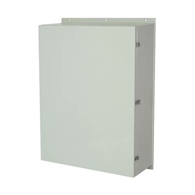 Allied Moulded AM483616L NEMA 4X Fiberglass Enclosure