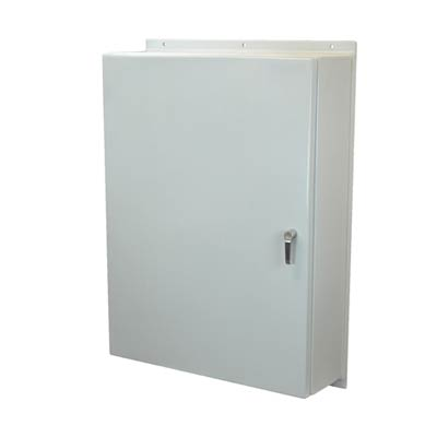 Allied Moulded AM483616L3PT NEMA 4X Fiberglass Enclosure