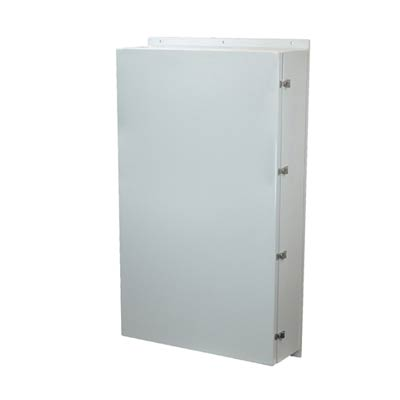 Allied Moulded AM603612L NEMA 4X Fiberglass Enclosure