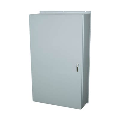 Allied Moulded AM603612L3PT NEMA 4X Fiberglass Enclosure