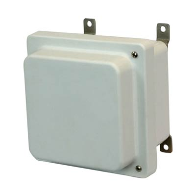Allied Moulded AM664RH NEMA 4X Fiberglass Enclosure