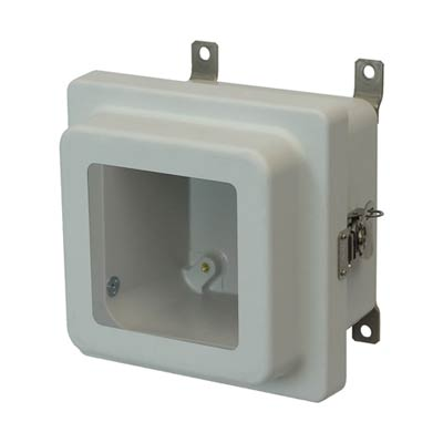 Allied Moulded AM664RTW NEMA 4X Fiberglass Enclosure