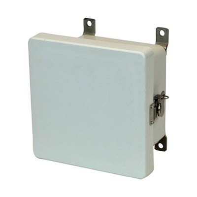Allied Moulded AM664T NEMA 4X Fiberglass Enclosure