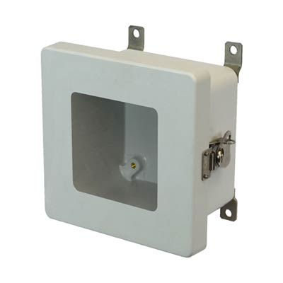 Allied Moulded AM664TW NEMA 4X Fiberglass Enclosure