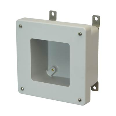 Allied Moulded AM664W NEMA 4X Fiberglass Enclosure