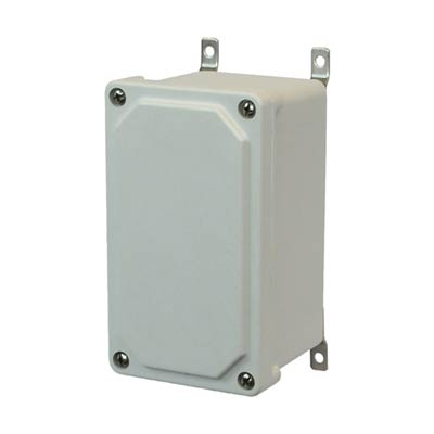 Allied Moulded NEMA 4X AM743 Fiberglass Enclosure