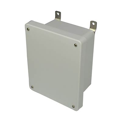 Allied AM864 NEMA 4X & 6P Fiberglass Enclosure
