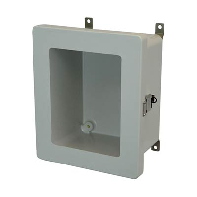Allied Moulded AM864LW NEMA 4X Fiberglass Enclosure