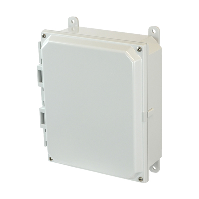 Allied AMP1082 NEMA 4X & 6P Polycarbonate Enclosure