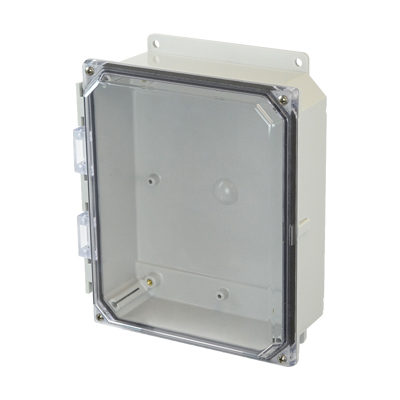 Allied AMP1082CCF NEMA 4X & 6P Polycarbonate Enclosure