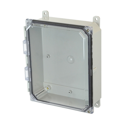 Allied Moulded AMP1082CCH NEMA 4X Polycarbonate Enclosure_THUMBNAIL