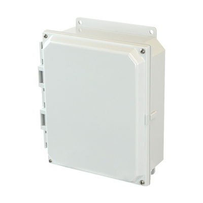 Allied AMP1082F NEMA 4X & 6P Polycarbonate Enclosure