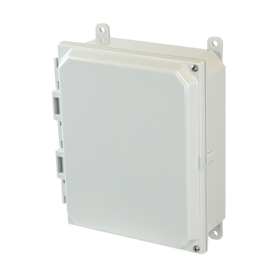 Allied Moulded AMP1082H NEMA 4X Polycarbonate Enclosure
