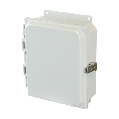 Allied Moulded AMP1082LF NEMA 4X Polycarbonate Enclosure