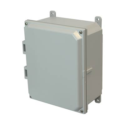Allied AMP1084 NEMA 4X & 6P Polycarbonate Enclosure