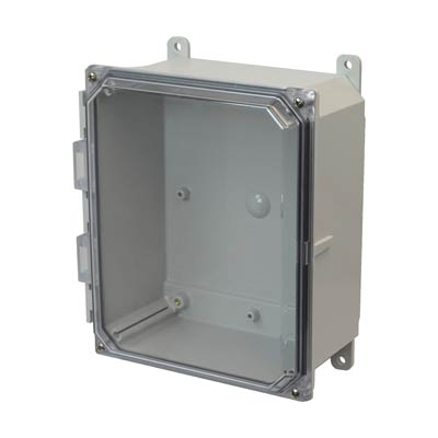 Allied AMP1084CC NEMA 4X & 6P Polycarbonate Enclosure