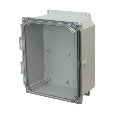 Allied AMP1084CCF NEMA 4X & 6P Polycarbonate Enclosure
