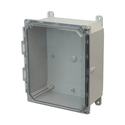 Allied Moulded AMP1084CCH NEMA 4X Polycarbonate Enclosure_THUMBNAIL