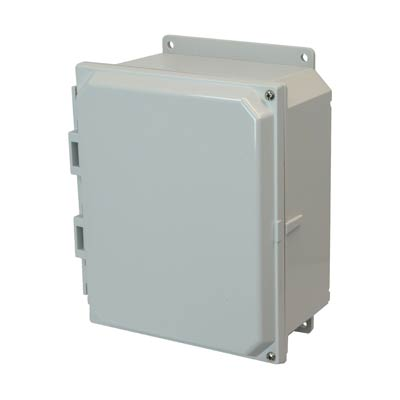 Allied Moulded AMP1084HF NEMA 4X Polycarbonate Enclosure_THUMBNAIL