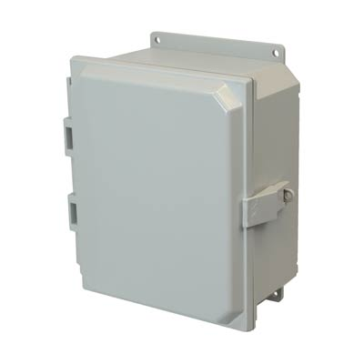 Allied Moulded AMP1084NLF NEMA 4X Polycarbonate Enclosure