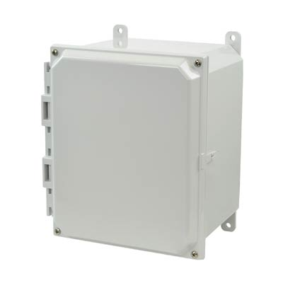 Allied AMP1086 NEMA 4X & 6P Polycarbonate Enclosure