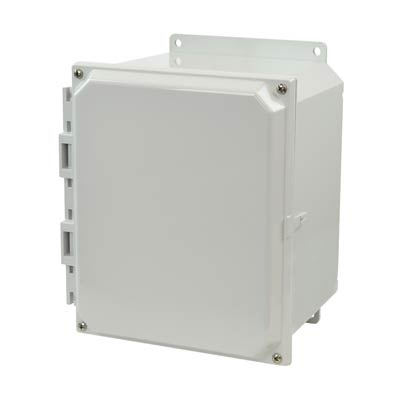 Allied AMP1086F NEMA 4X & 6P Polycarbonate Enclosure