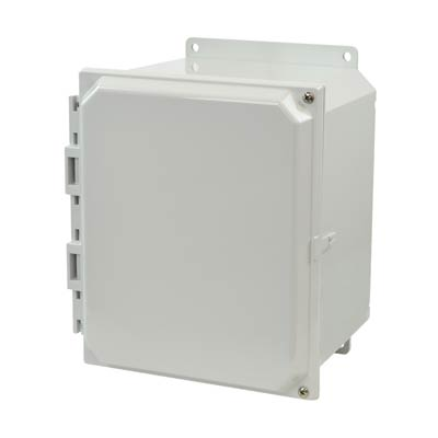 Allied Moulded AMP1086HF NEMA 4X Polycarbonate Enclosure