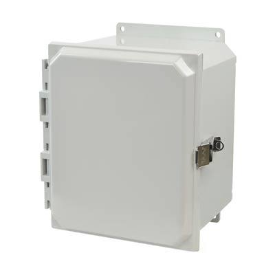 Allied Moulded AMP1086LF NEMA 4X Polycarbonate Enclosure