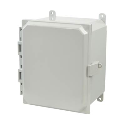 Allied Moulded AMP1086NL NEMA 4X Polycarbonate Enclosure