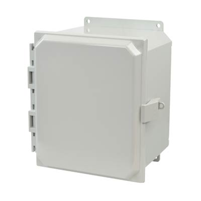 Allied Moulded AMP1086NLF NEMA 4X Polycarbonate Enclosure