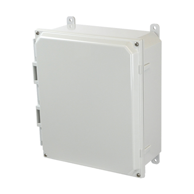 Allied AMP1204 NEMA 4X & 6P Polycarbonate Enclosure