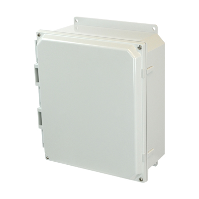 Allied AMP1204F NEMA 4X & 6P Polycarbonate Enclosure