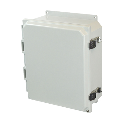 Allied Moulded AMP1204LF NEMA 4X Polycarbonate Enclosure