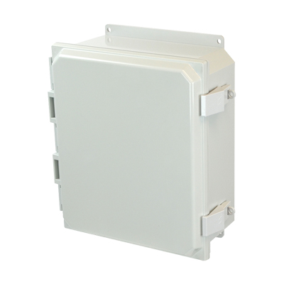Allied Moulded AMP1204NLF NEMA 4X Polycarbonate Enclosure