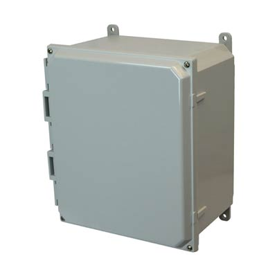 Allied AMP1206 NEMA 4X & 6P Polycarbonate Enclosure