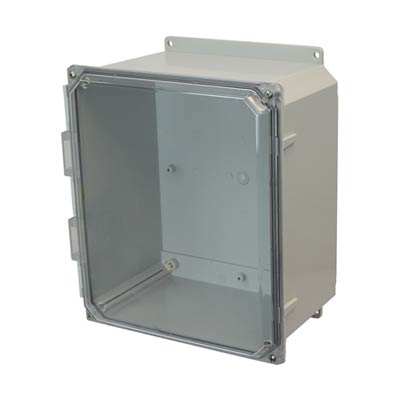 Allied AMP1206CCF NEMA 4X & 6P Polycarbonate Enclosure