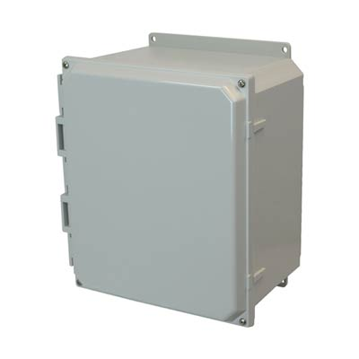 Allied AMP1206F NEMA 4X & 6P Polycarbonate Enclosure