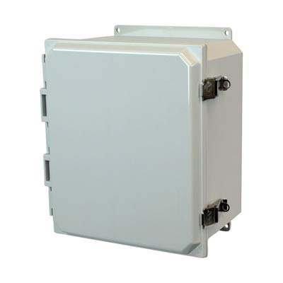 Allied Moulded AMP1206LF NEMA 4X Polycarbonate Enclosure