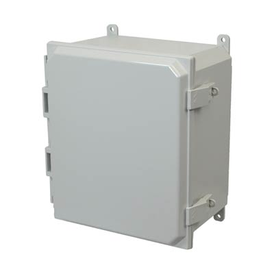 Allied Moulded AMP1206NL NEMA 4X Polycarbonate Enclosure