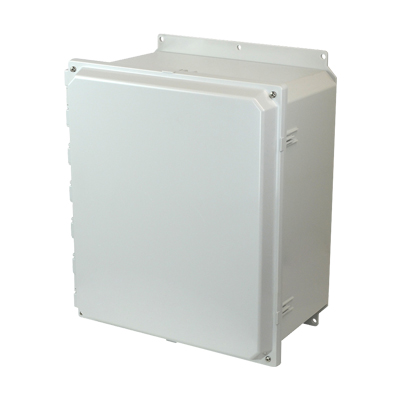 Allied Moulded AMP1648F NEMA 4X Polycarbonate Enclosure
