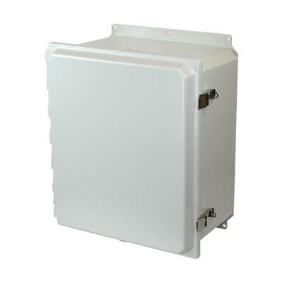 Allied Moulded AMP1860LF NEMA 4X Polycarbonate Enclosure
