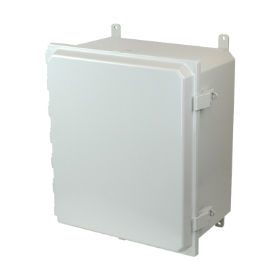 Allied Moulded AMP1860NL NEMA 4X Polycarbonate Enclosure
