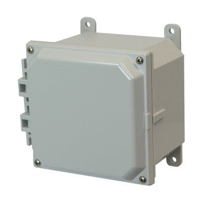 Allied AMP664 NEMA 4X & 6P Polycarbonate Enclosure
