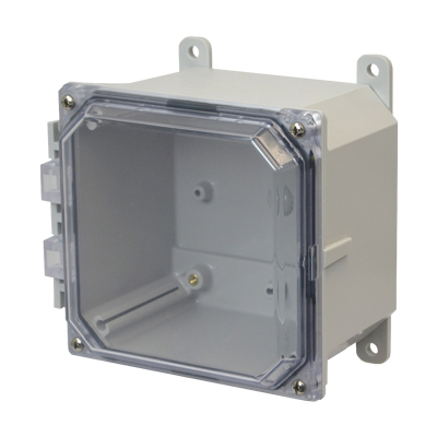 Allied AMP664CC NEMA 4X & 6P Polycarbonate Enclosure