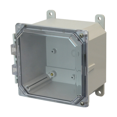 Allied Moulded AMP664CCH NEMA 4X Polycarbonate Enclosure