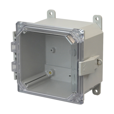 Allied Moulded AMP664CCNL NEMA 4X Polycarbonate Enclosure