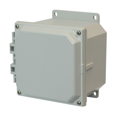 Allied AMP664F NEMA 4X & 6P Polycarbonate Enclosure