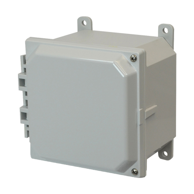 Allied Moulded AMP664H NEMA 4X Polycarbonate Enclosure